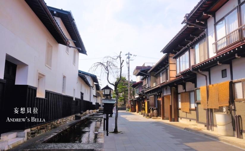 【飛驒古川】你的名字中的場景地圖 安靜悠遊的鯉魚街道