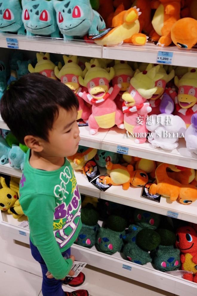 大阪必買 神奇寶貝中心 妙蛙種子 小火龍玩偶