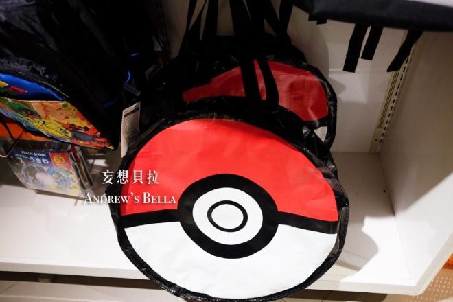 大阪必買 神奇寶貝中心 寶貝球 側 背包