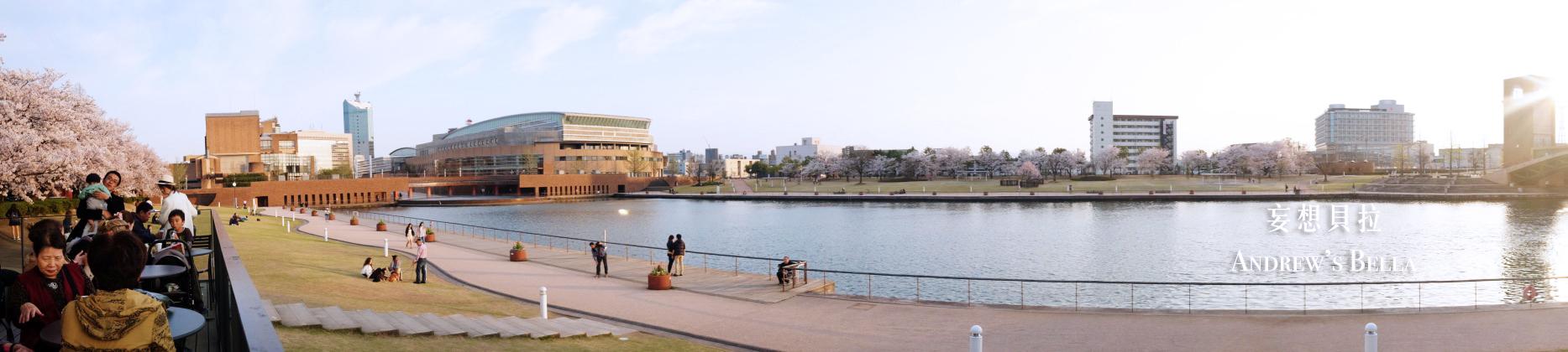 富山旅遊 賞櫻景點推薦 星巴克視野