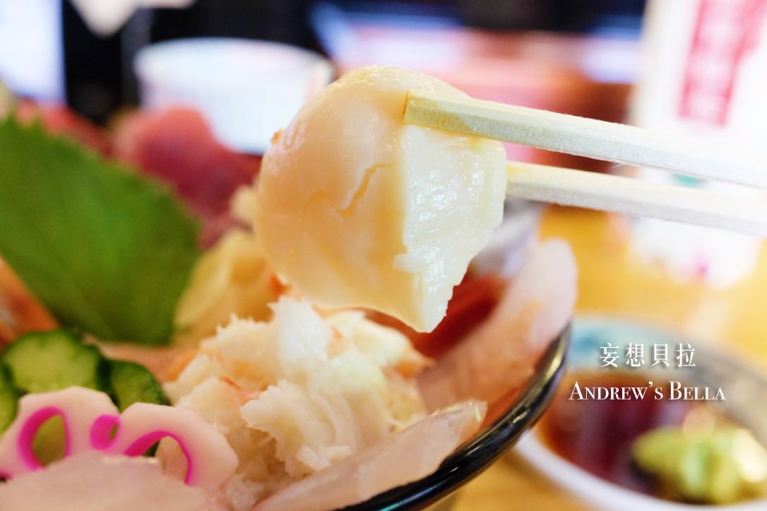 金澤美食 近江町市場 干貝 蟹肉 平井海鮮丼