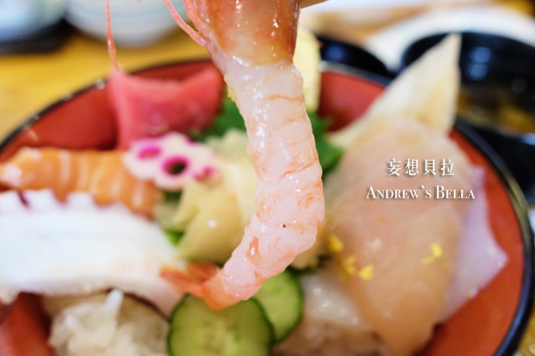 金澤美食 近江町市場 甜蝦 平井海鮮丼