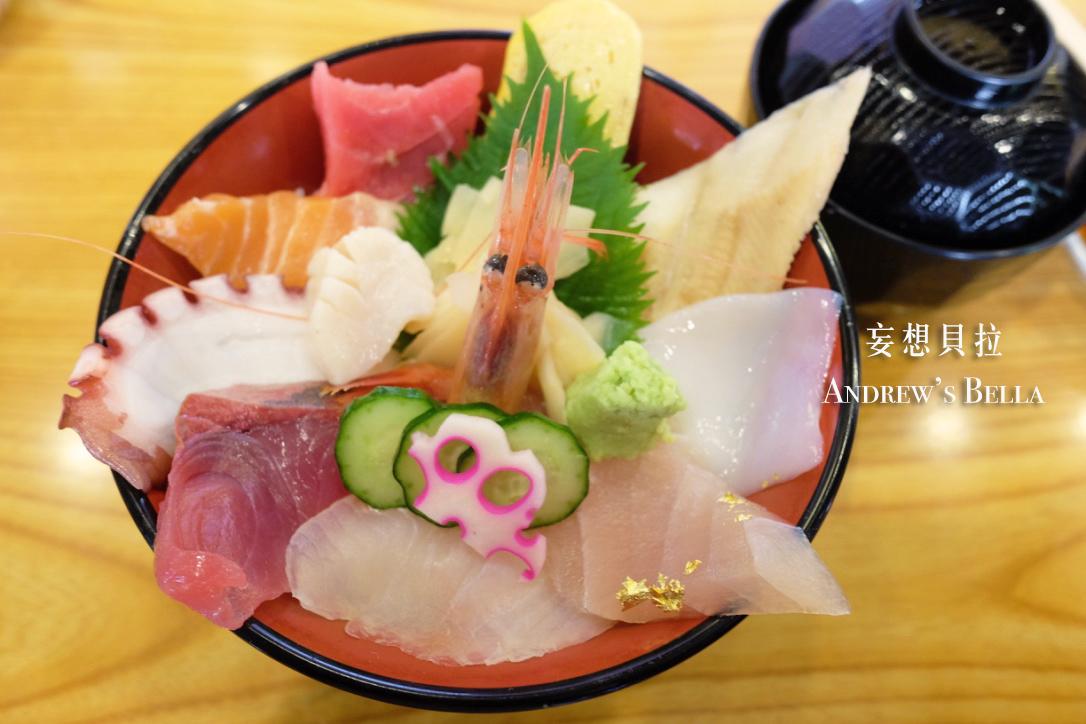 金澤美食 近江町市場 花枝 鮭魚 平井海鮮丼