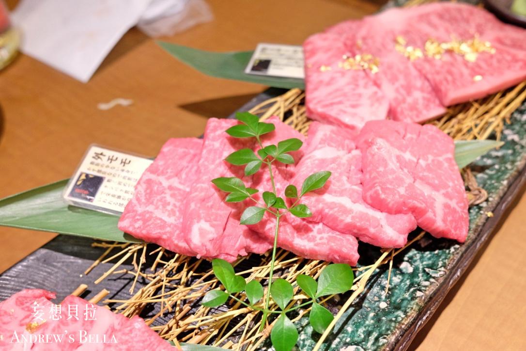金澤美食 金箔燒肉盛