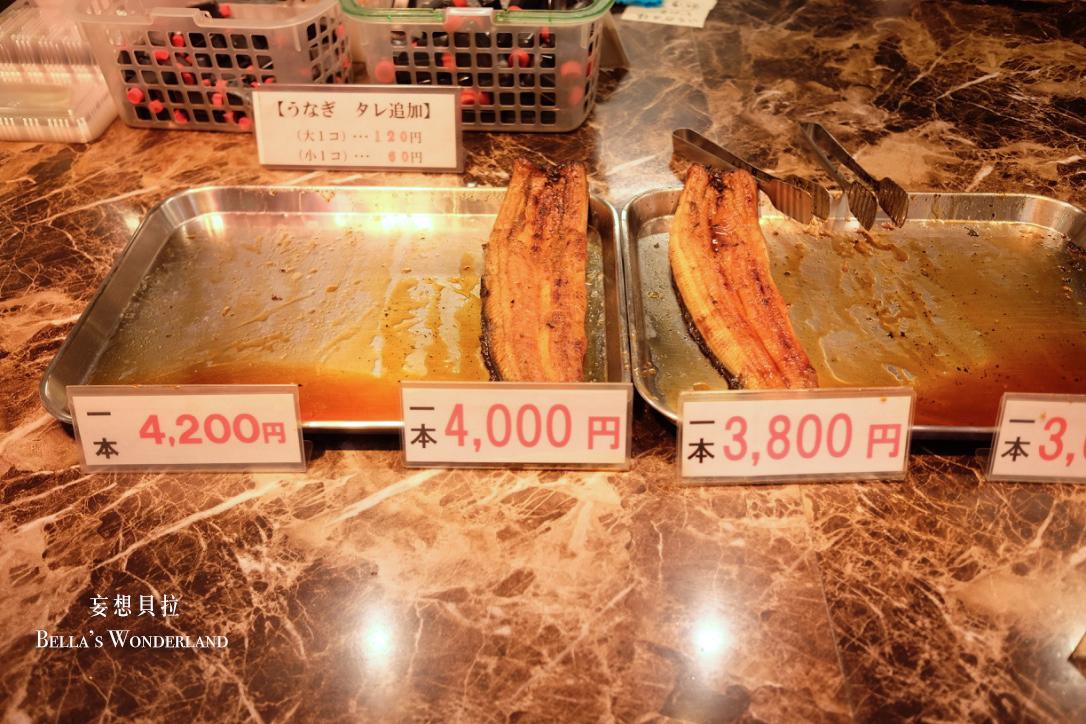 金澤美食 近江町市場的推薦美食地圖 特級烤鰻魚