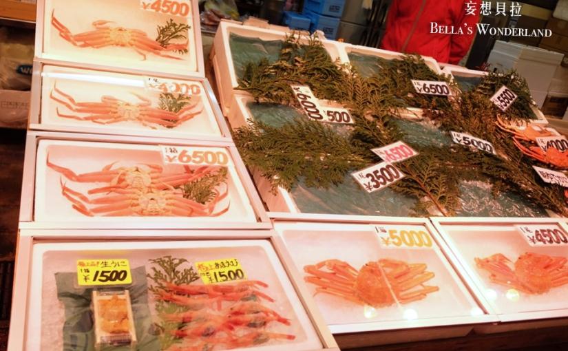 【金澤美食】近江町市場的推薦美食地圖 鮮美生海膽/ 香氣逼人的蒲燒鰻魚/灑上金箔的海鮮丼