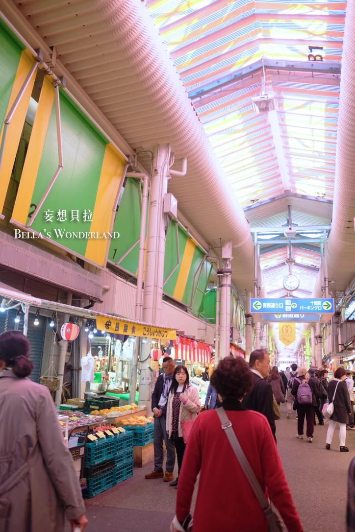金澤美食 近江町市場的推薦美食地圖 街道 標示
