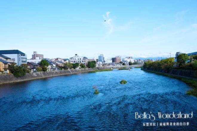 京都_鈴七條大橋_旅館旁邊的鴨川