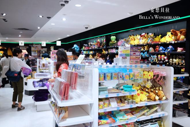 京都必買 四条 河原町神奇寶貝中心 周邊商品