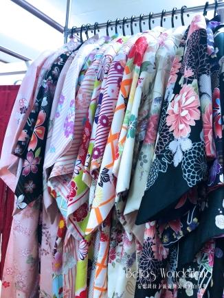 川越和服柚屋 絢麗多樣的和服