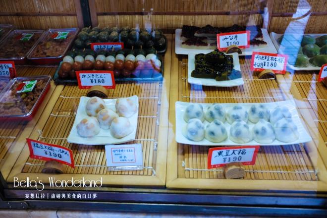 京都美食 ふたば雙葉 名代豆餅 三色糰子