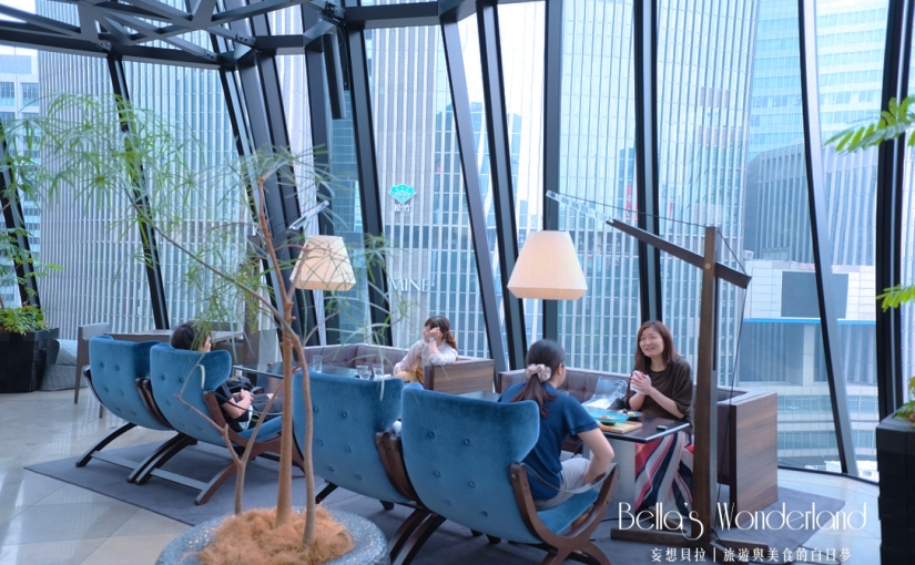 【東京銀座】數寄屋橋茶房 擁抱碧藍天幕與街景的絕美咖啡廳(含完整菜單)
