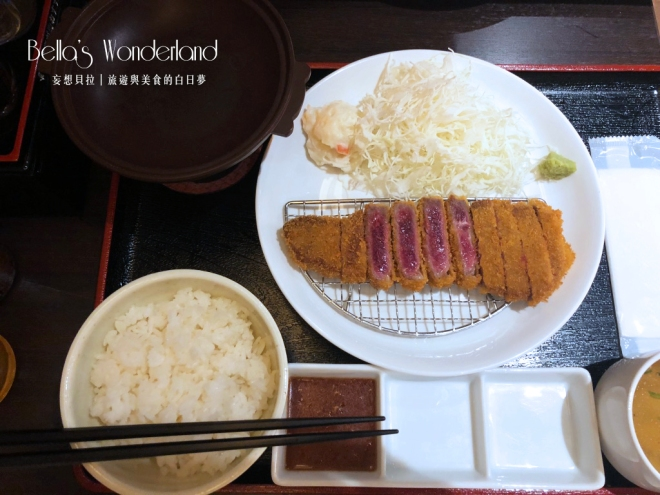 東京美食 ぎゅう道 銀座必吃超美味炸牛排 牛排套餐