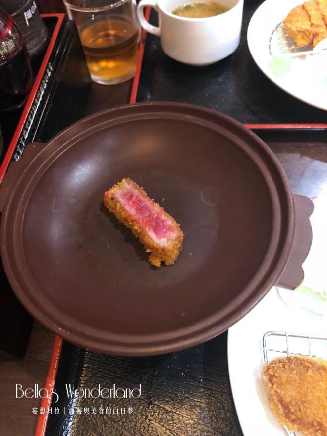 東京美食 銀座必吃超美味炸牛排 烤盤
