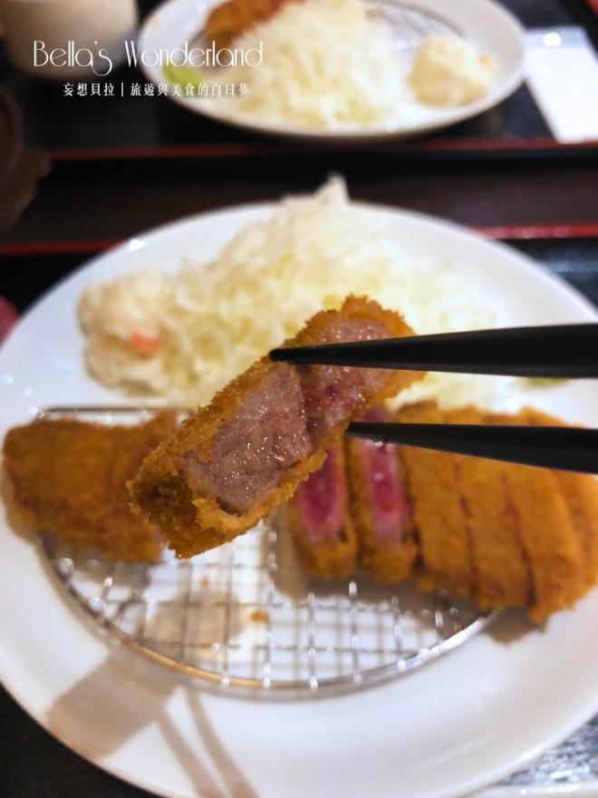 東京美食 銀座必吃超美味炸牛排 烤過後的熟度