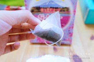 河口湖景點 芝櫻祭會場限定必買伴手禮 開箱櫻紅茶